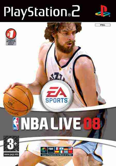 Descargar NBA Live 08 [Spanish] [Swap Magic Ed] por Torrent